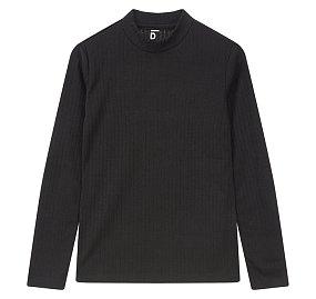 하프 터틀넥 티셔츠