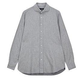 소프트 코튼 롱 슬리브 셔츠