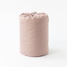 이불로 사용하는 포근한 침낭_핑크