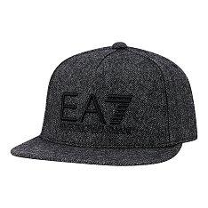 EA7 로고 울 블랜드 스냅백