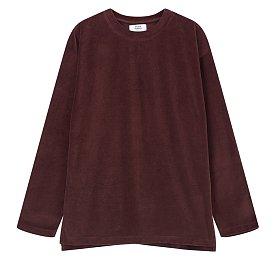[ESSENTIAL] 벨로아 롱 슬리브 티셔츠