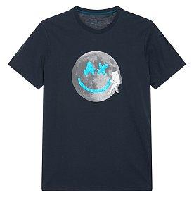 풀 문 AX 반팔 티셔츠