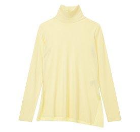 [ATELIER] 사이드 슬릿 하이넥 티셔츠