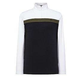 [Men] 크리스 컬러 블록 하이넥 티셔츠