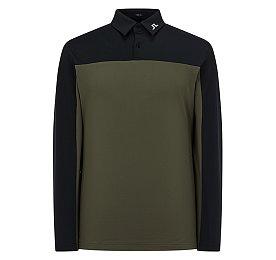 [Men] 조한 슬림 롱 피케 셔츠