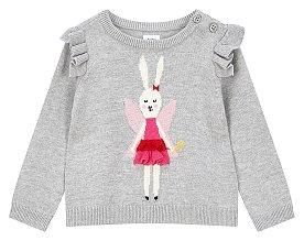 ★갭키즈 18년 HOLIDAY★ [베이비 여아 0-24개월] 페어리 프릴 스웨터
