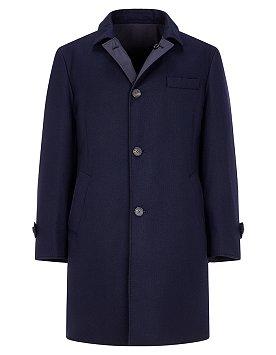 리버스 싱글 다운 코트