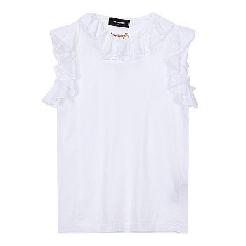 프릴 홀릭 티셔츠 (RENNY FIT)