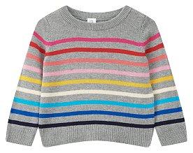 ★갭키즈 18년 HOLIDAY★ [토틀러 여아 2-5세] 멀티 스트라이프 스웨터