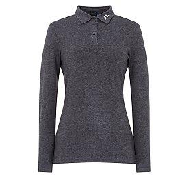[Women] 캐시 슬림 롱슬리브 피케 셔츠