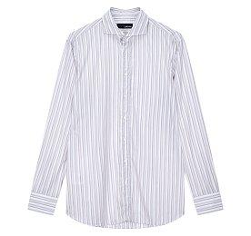 스트라이프 패턴 셔츠