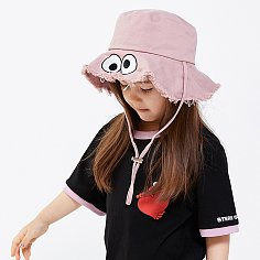 [SM20 SV X Sesame Street] Hat for Kids(Pink)