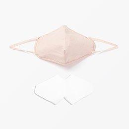 간편한 필터 교체 마스크 소형_핑크