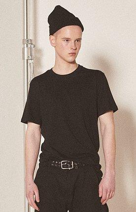 에센셜 크루넥 반팔 티셔츠