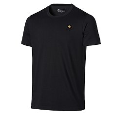 MENS BASIC FIT TEE GOLD EMBROIDERY LOGO PATCH 무스너클 남성 골드 로고 티셔츠 (20SM10MT7