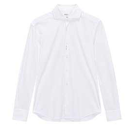 [XACUS]씬 스트라이프 니티드 셔츠