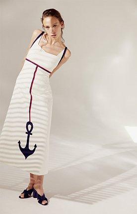 Anchor Dress(WHITE)
