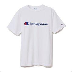 BASIC LOGO T-SHIRT - WHITE (C3-P302) 챔피온 재팬 베이직 로고 반팔 티셔츠