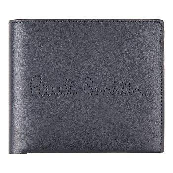 펀칭 로고 레더 지갑