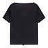 [FEMME]러플 카라 반팔 티셔츠