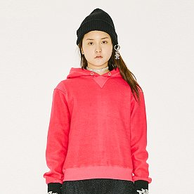 Baby Back Over Hoodie-Woman [PINK]
