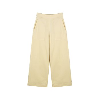 WIDE PANTS_YELLOW