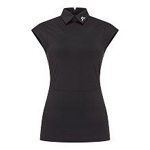 [Women] 이네즈 슬림 슬리브리스 피케 셔츠