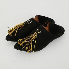 MOROCCAN SHOES [BLACK]