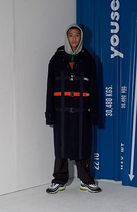 TAPE DETAILED COAT