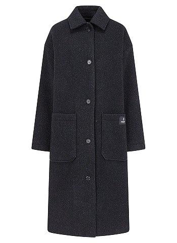 헤링본 투포켓 코트