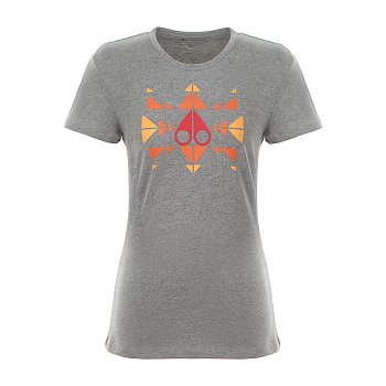 TRIPPY LOGO T-SHIRT 무스너클 여성 트리피 로고 티셔츠 (19SM19LT704MK209)