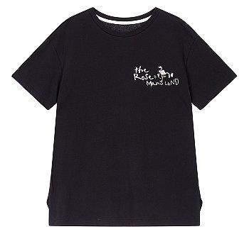 [#GRWG] 애니멀 앤 레터링 그래픽 티셔츠