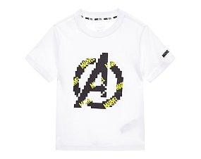 아동 마블 로고 티셔츠