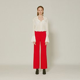 Flore corduroy trousers _ Red