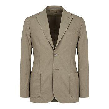 [MR.BOON]스티치드 코튼 싱글 자켓