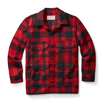MACKINAW WOOL CRUISER JACKET RED/BLACK 필슨 매키노 울 크루저 자켓