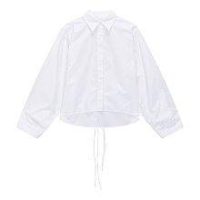 [MM6] 더블 스트링 와이드 소매 셔츠
