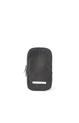 PACK SLIM CASE 105 WAXED CANVAS CHARCOAL