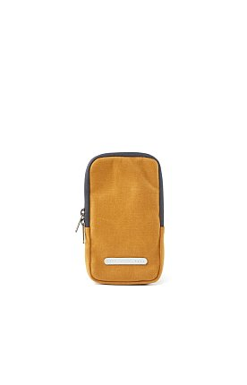 PACK SLIM CASE 105 WAXED CANVAS MUSTARD