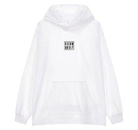 오버핏 후드 티셔츠