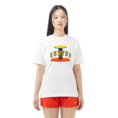 ★유아인 착용★ Newtro Table T-Shirt