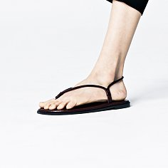 15mm Feather Thread Sandal (Wine)