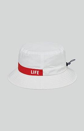LIFE STRING BUCKET HAT_WHITE 라이프 아카이브 스트링 버킷 햇