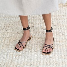 DOUBLE CROSS SANDAL