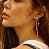 Dreamer Cross Earrings_SILVER
