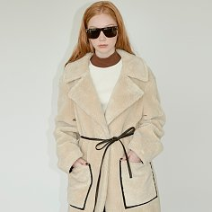ECO-FUR OVERSIZE LONG COAT