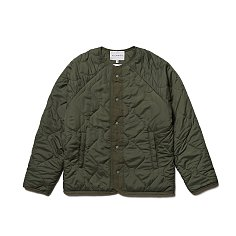 REVERSIBLE QUILTED JACKET-KHAKI