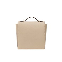 SQUARE FLAP SS - NUDE BEIGE