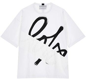 [LOVE] 빅러브 프린트 반팔 티셔츠