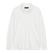 오픈 넥 폴로 티셔츠